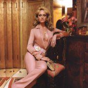 Glamorous Amber Valletta for Versace