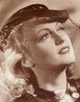 German dancer and actress Camilla Martha Horn