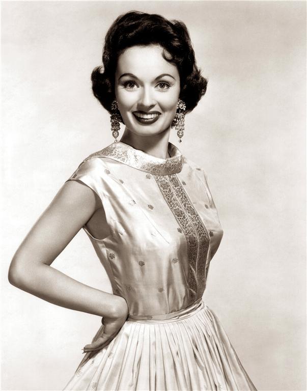 Glamorous beauty Ann Blyth