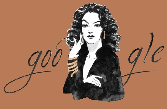 Google honoring Mexican film actress Maria Felix in 2014