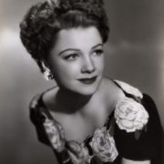 Gorgeous American actress Anne Baxter