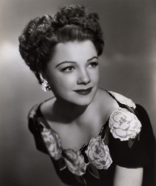 Gorgeous American actress Anne Baxter (May 7, 1923 – December 12, 1985)