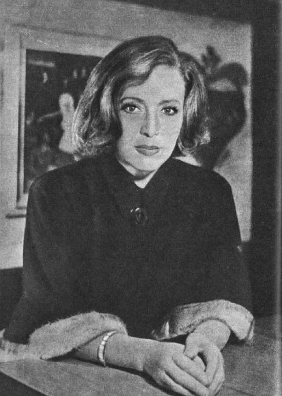 Gorgeous Czech actress Kveta Fialova