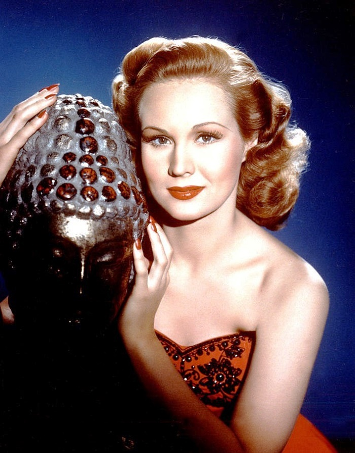 Gorgeous woman Virginia Mayo
