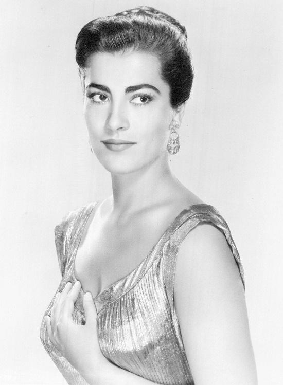 Greek actress Irene Papas