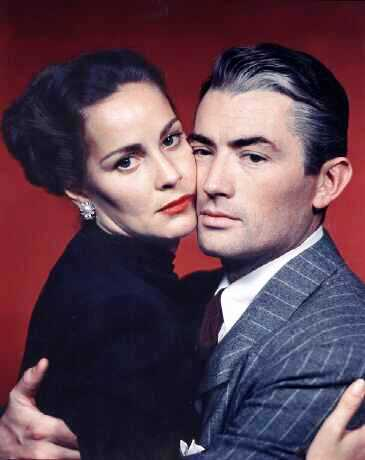 Gregory Peck and Alida Valli in 'The Paradine Case', 1947 film directed by Alfred Hitchcock