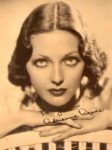 1930s Hollywood Diva Orchidaceous Adrienne Ames