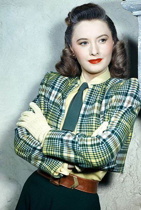 Hollywood actress Barbara Stanwyck