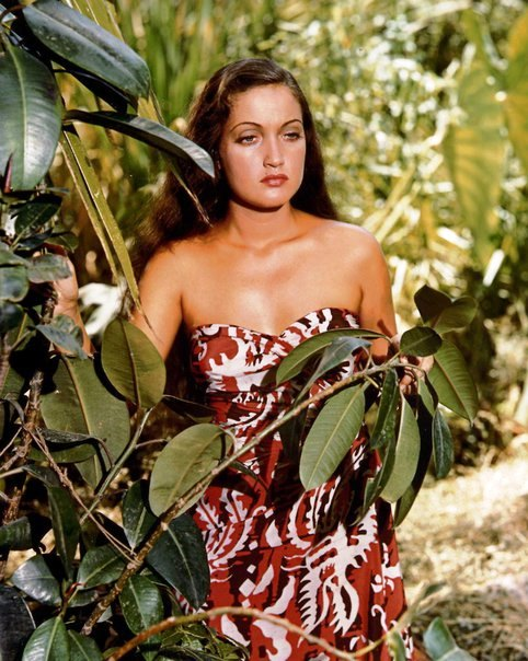 Hollywood diva Dorothy Lamour