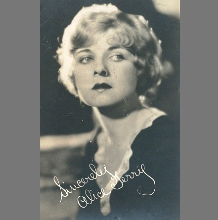 Hollywood diva, actress Alice Terry
