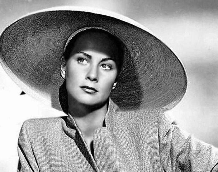 Italian actress Alida Valli