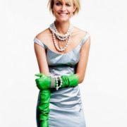 Jewellery lover Amber Valletta