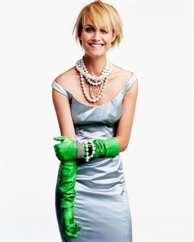 Jewellery lover Amber Valletta