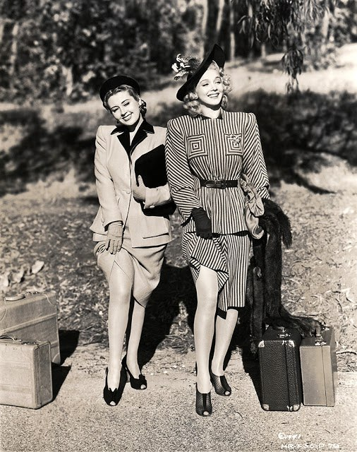 Joan Blondell and Carole Landis, 1941