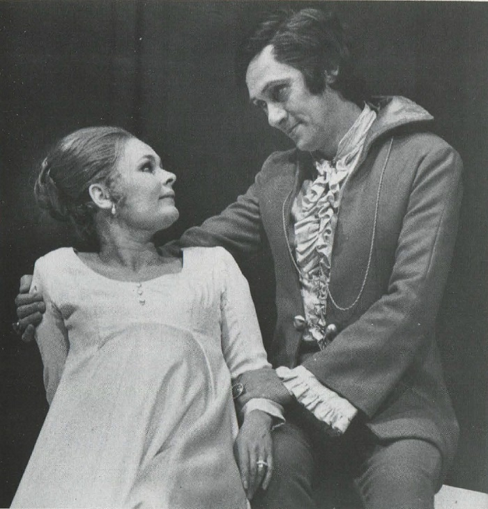 Dench in the play 'Winter's Tale'