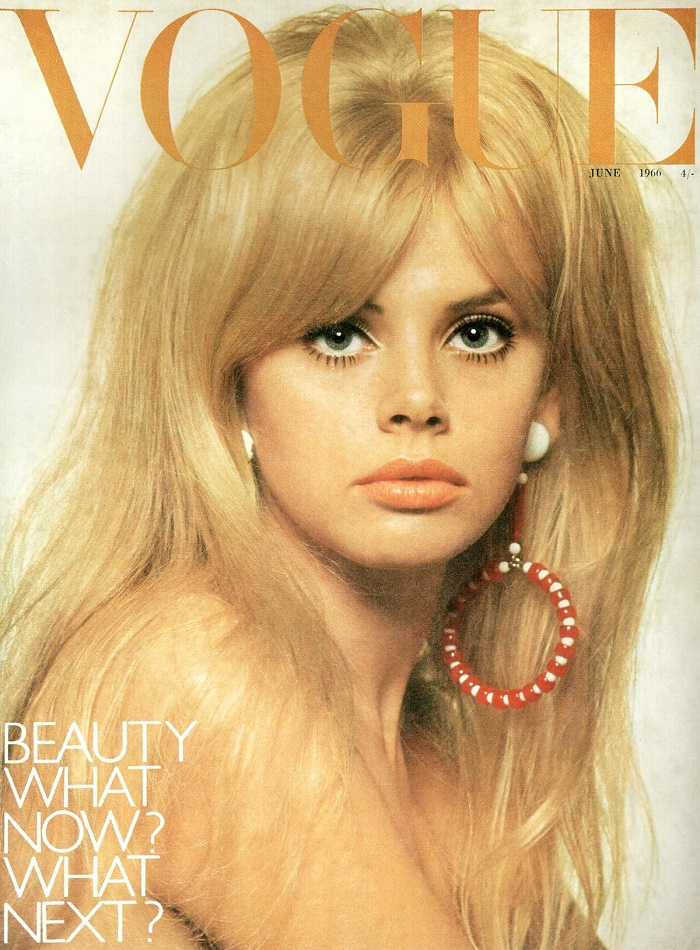 June 1966 cover of British Vogue