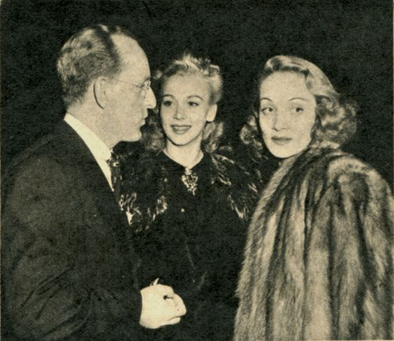 Kay Kyser, Carole Landis and Marlene Dietrich