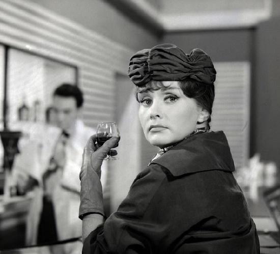 Krafftówna in the film 'How to Be Loved'. 1963