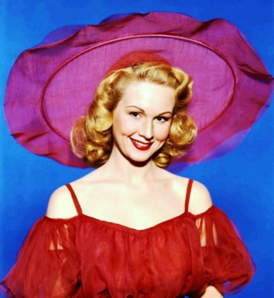 Lady Virginia Mayo