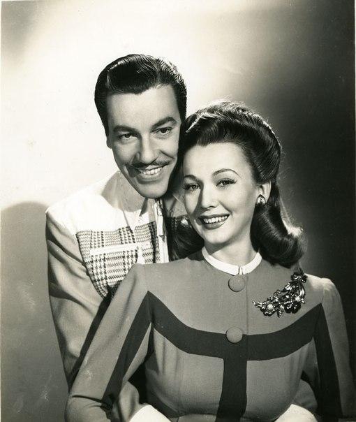 Cesar Romero and Landis