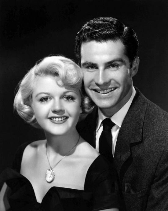 Lansbury with her husband Peter Shaw