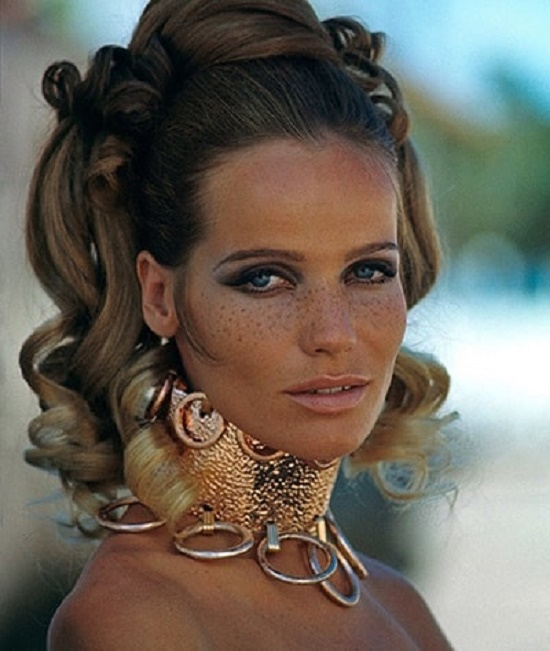Legendary fashion model Veruschka
