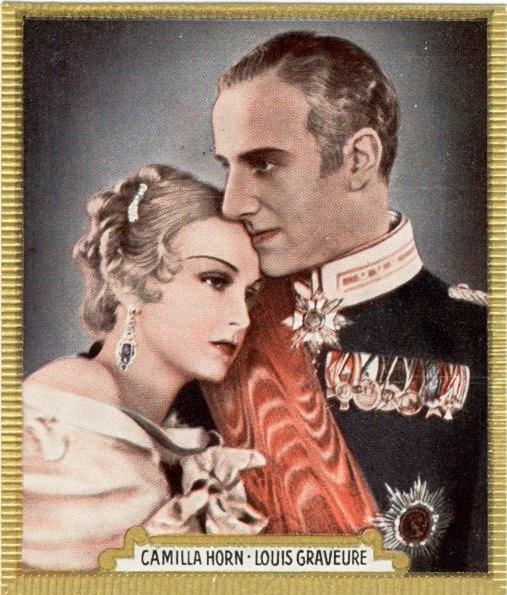 Louis Graveure and Camilla Horn