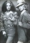 1960-1970s Charming English fashion models