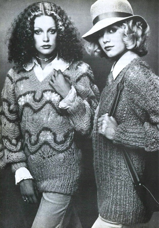 Magazine 'England', 1978, number 66. Charming English fashion models of the 1960s-1970s