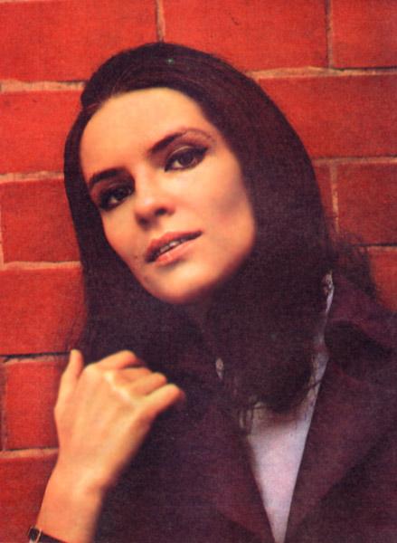 Magazine 'Sputnik of moviegoer', March 1973. Romanian actress Irina Petrescu