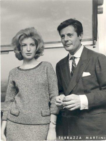 Marcello Mastroianni and Monica Vitti