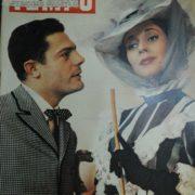 Marcello Mastroianni and Valentina Cortese