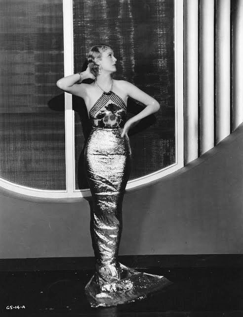 Mermaid dress, Gloria Stuart
