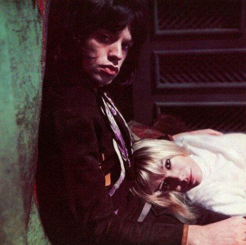Mick Jagger & Anita Pallenberg in 'Performance'. 1968