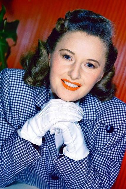 Model and actress Barbara Stanwyck