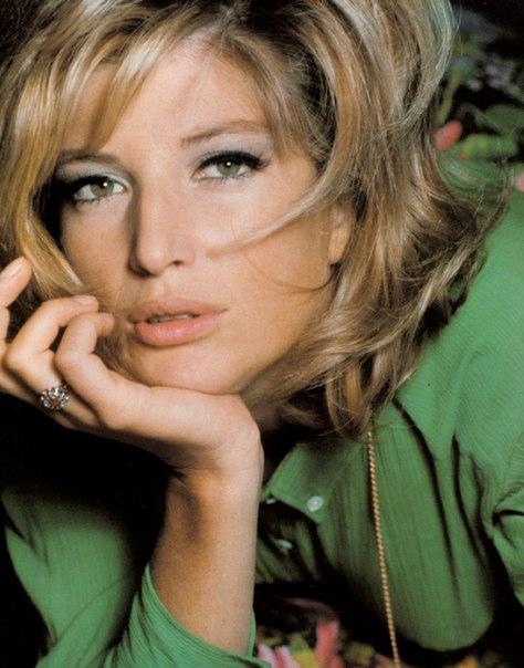 Model and actress Monica Vitti