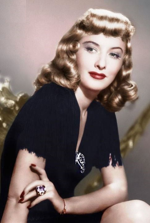 Movie actress Barbara Stanwyck