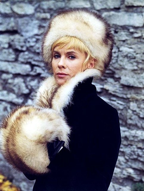 Movie actress Bibi Andersson