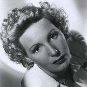 Movie actress Binnie Barnes