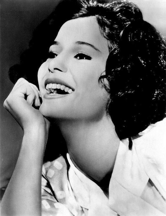 Movie actress Marie-Jose Nat