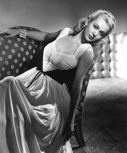 Movie star Carole Landis