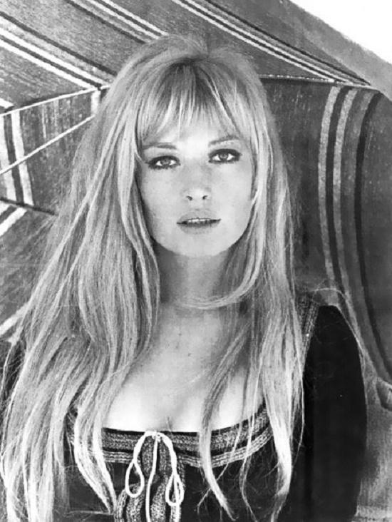 Muse of Antonioni, Italian film actress Monica Vitti (born 3 November 1931)