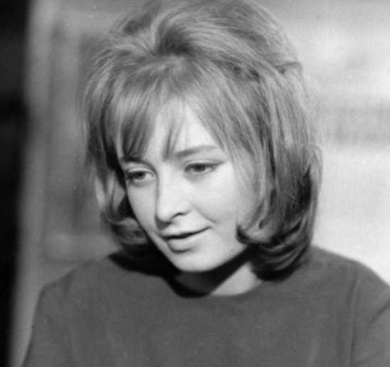 No divorce. 1963. Polish actress Magdalena Zawadzka