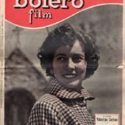 Old poster with Valentina Cortese