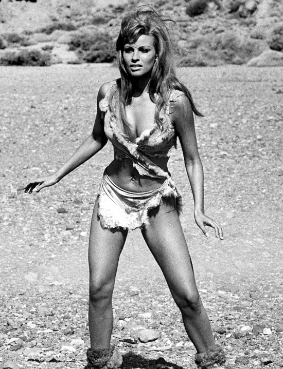 One Million Years B.C. (1966). Beauty Icon and New Woman Raquel Welch