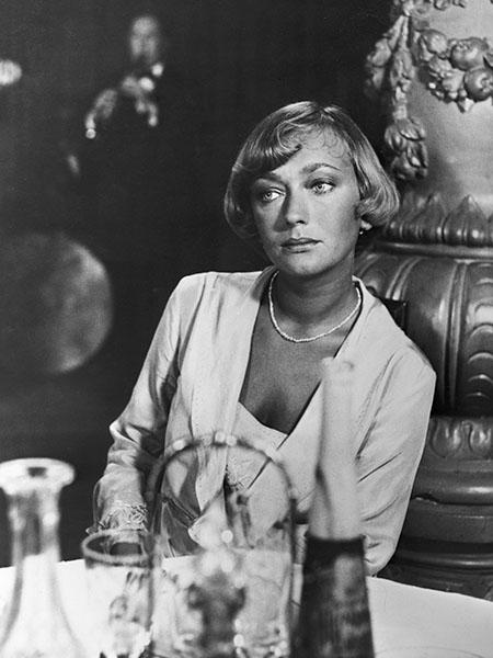 One of the most beautiful Polish actresses, Ewa Szykulska