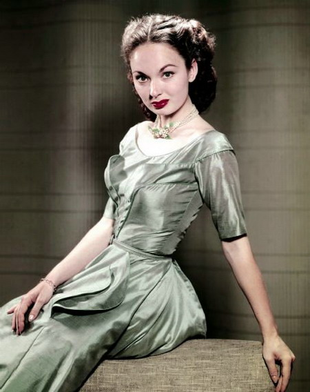 One of the most beautiful actresses in 1940-1950s Ann Blyth