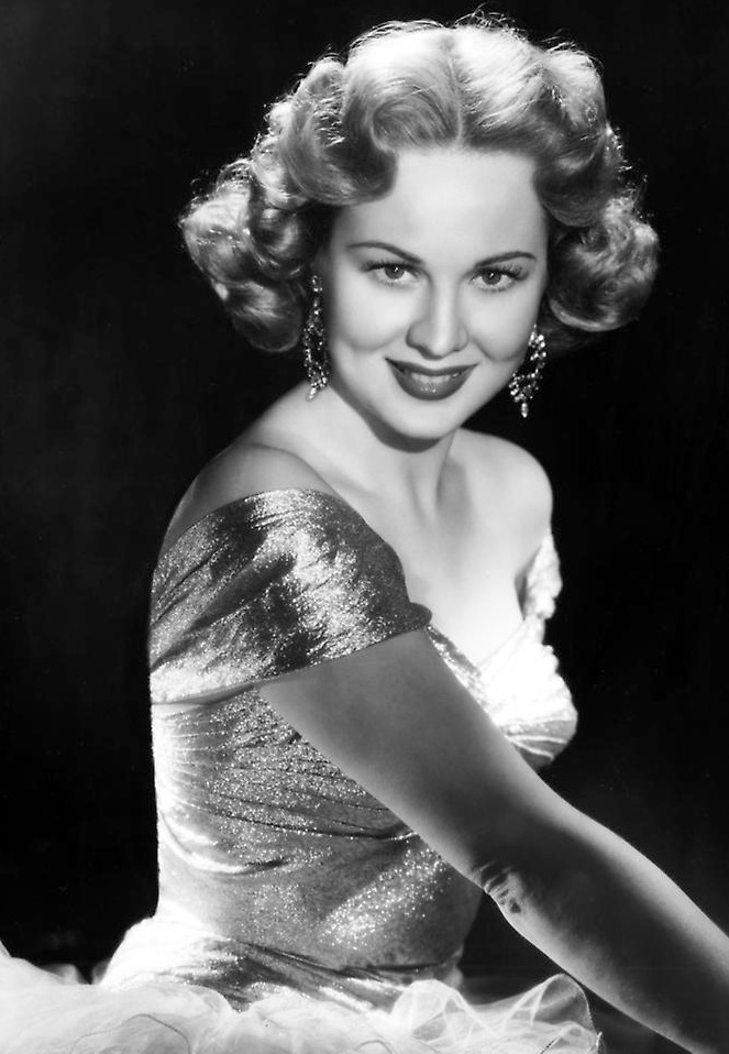 One of the most beautiful actresses of the time, Virginia Mayo