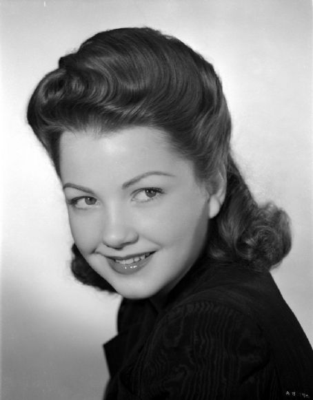 Oscar winner, American actress Anne Baxter