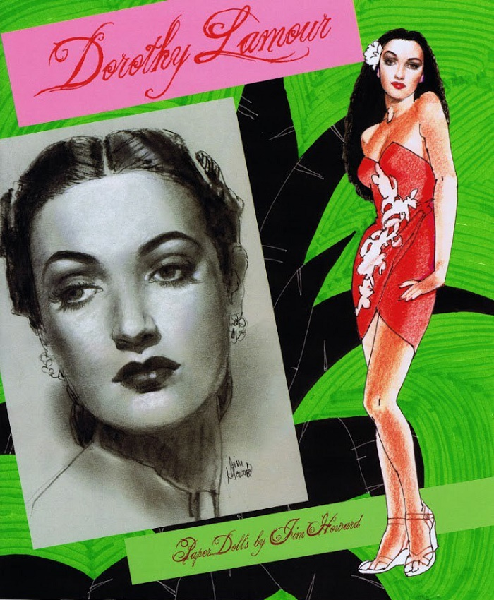 Paper Doll by Jim Howard, Dorothy Lamour